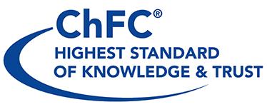 ChFC highest standard of knowledge & trust logo