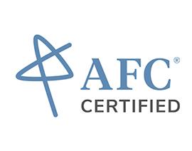 AFC certified logo