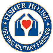 Fisher house, helping military families badge