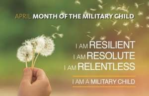 I am a military child image