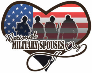 Military Spouses Day Appreciation Heart image