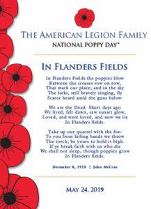 In Flanders Fields poem image