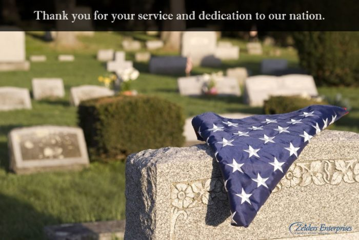 Memorial Day, Thank you for your service and dedication to our nation