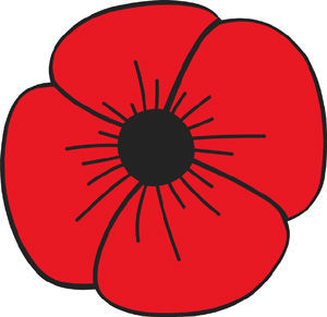 National Poppy Day red poppy image