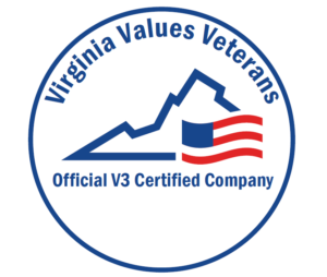 Virginia Values Veterans, Official V3 Certified Company