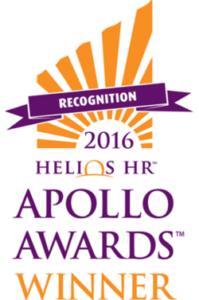 Helios HR Apollo Awards 2016 winner text on logo background