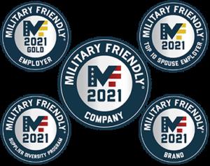 Military Friendly 2021 Awards